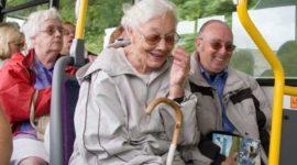 Льготный проездной билет для пенсионеров
