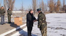 Материальная помощь военнослужащему по контракту