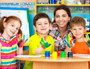 Распределение в детский сад в Москве