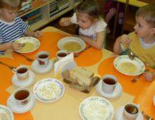 Правила организации питания в детском саду