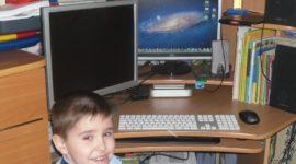 Работа дистанционной школы для детей-инвалидов в Новосибирской области