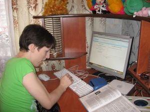 Организация учебного процесса в дистанционной школе для детей-инвалидов