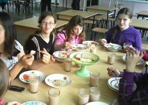 Правила организации питания в школе