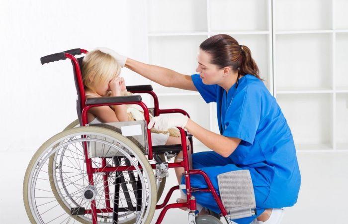 Медицинская помощь детям-инвалидам
