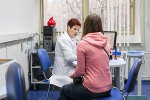 Медицинское обследование перед сдавчей крови