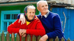 Количество неработающих пенионеров на селе